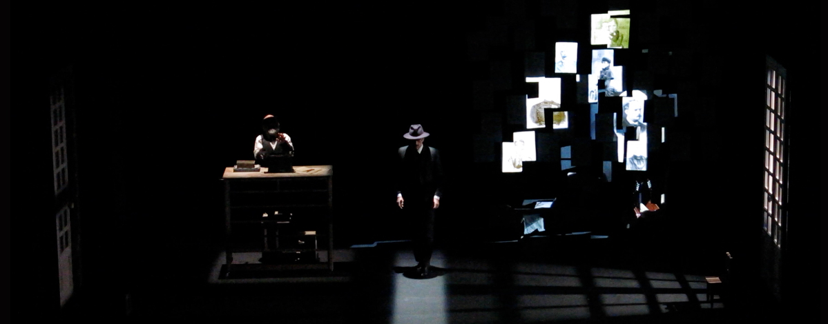 <i><b>Enigma Pessoa.</i></b>  Teatro Abadía
